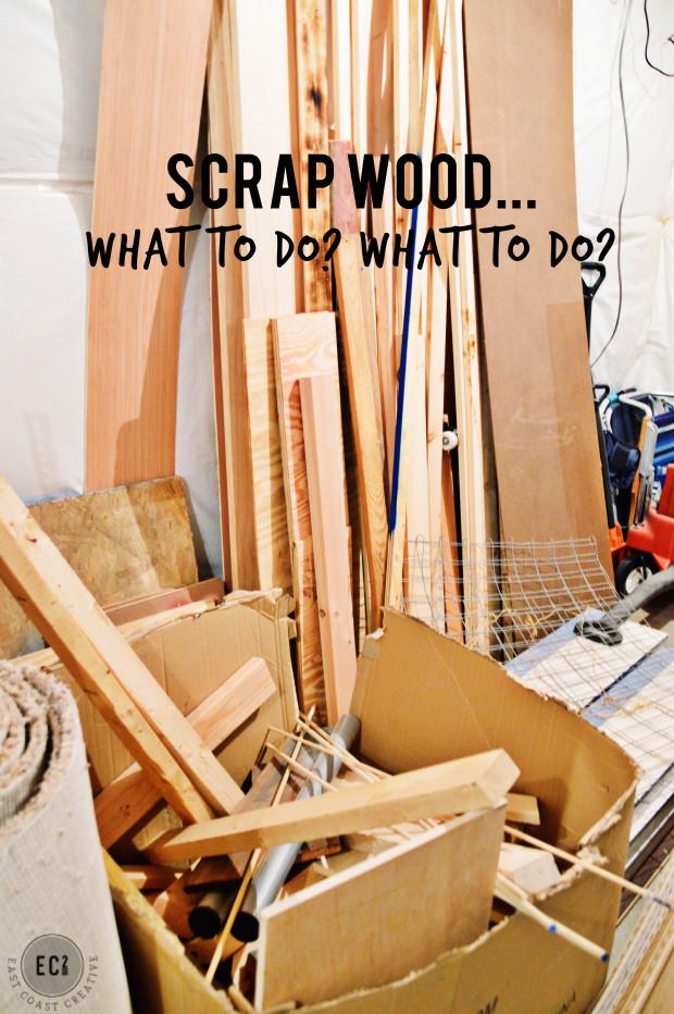DIY Wood Projects  Scrap Wood Succulent Planter