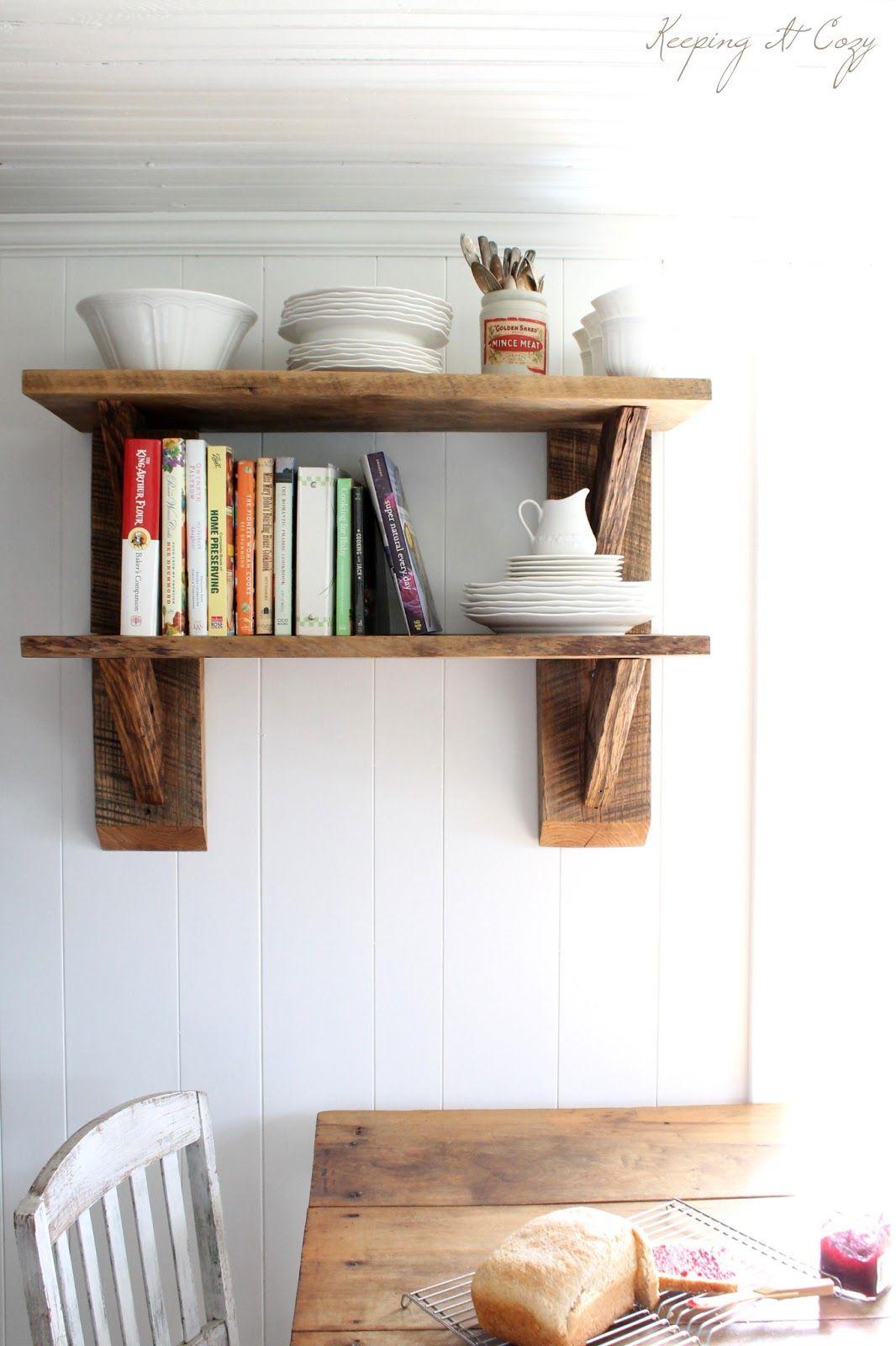 DIY Wood Shelf  60 Ways To Make DIY Shelves A Part Your Home s Décor