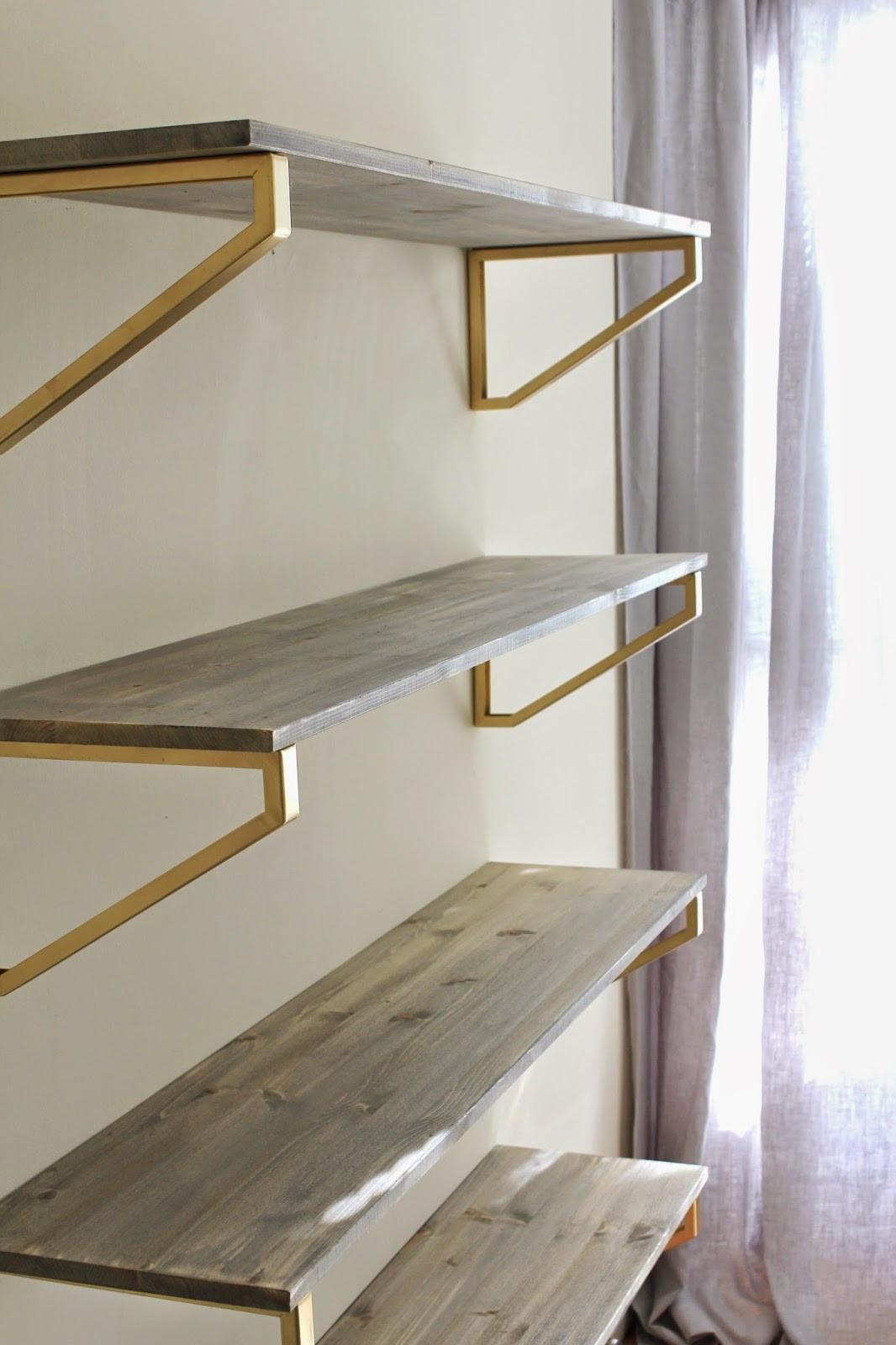 DIY Wood Shelf  Cup Half Full Rustic Wood Shelf DIY