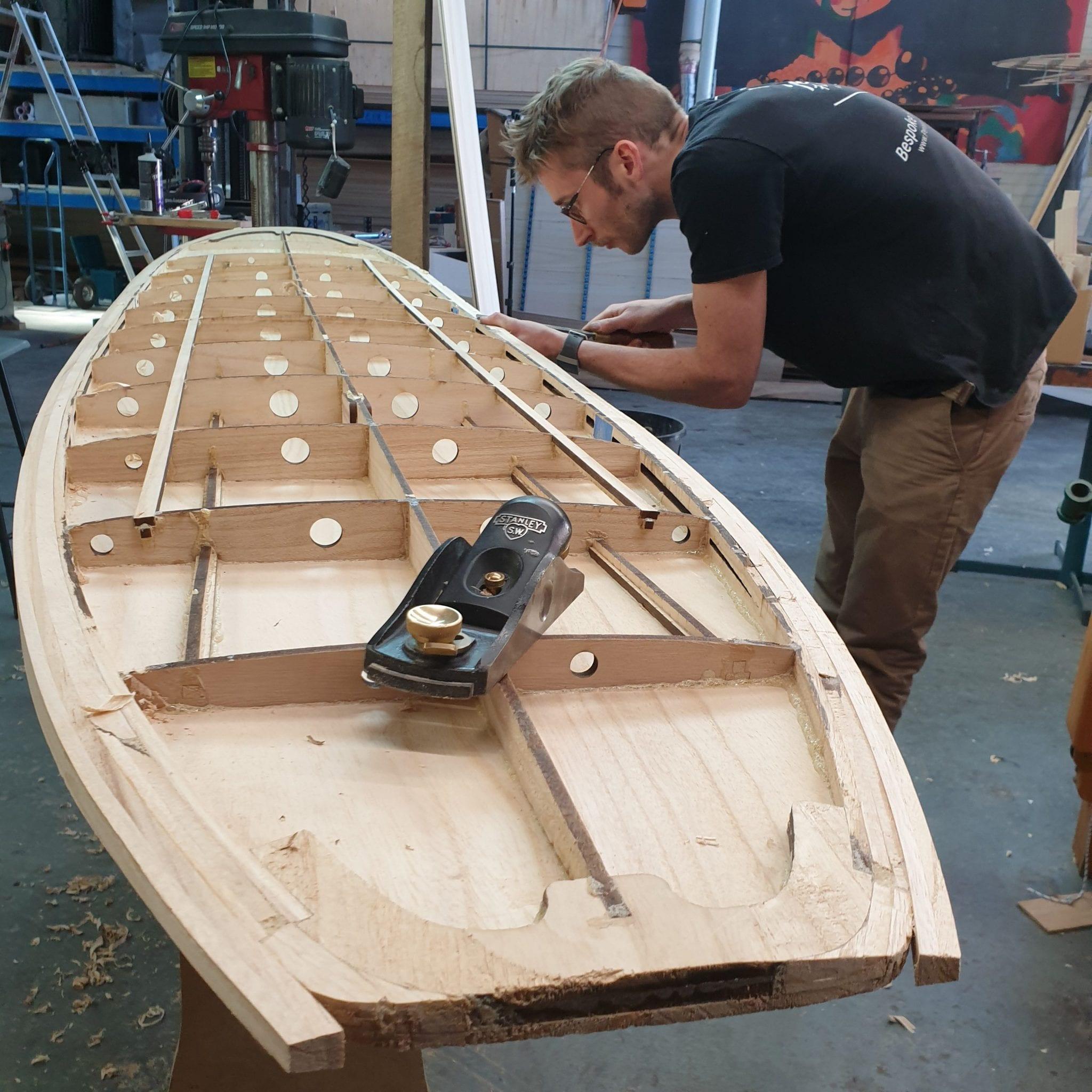 """DIY Wood Surfboard  Detailed Wooden Surfboard Template 8 10 x 22"""" Longboard"""