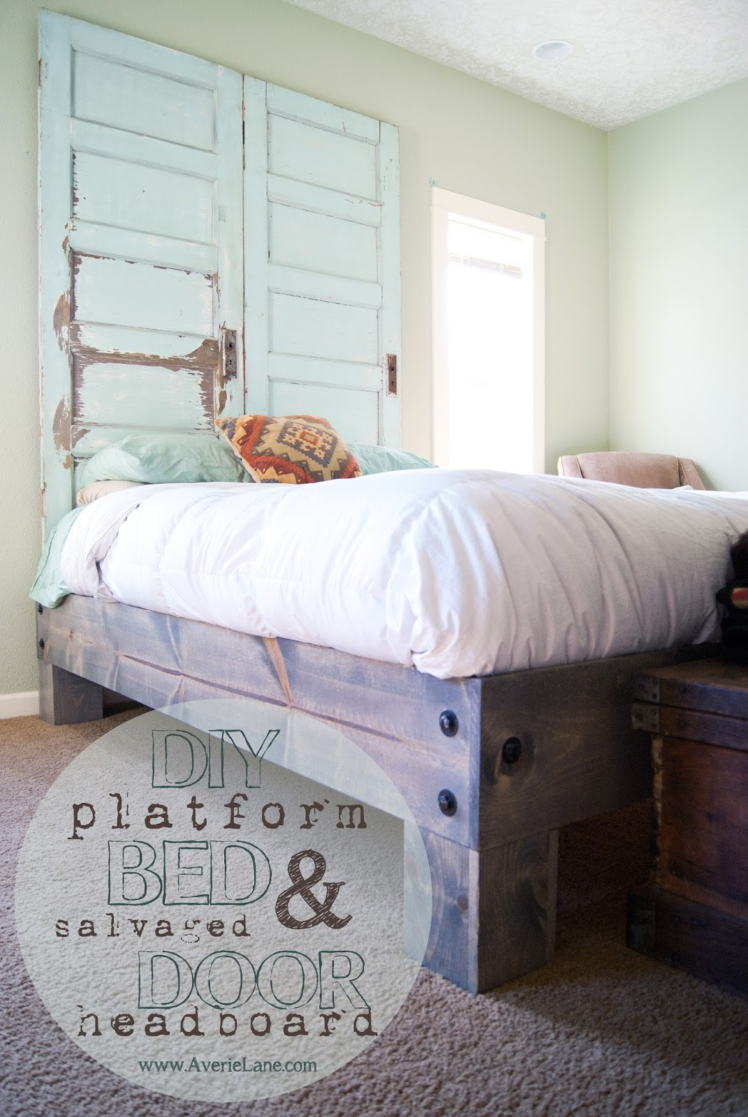 DIY Wooden Bed Frame With Storage  21 DIY Bed Frames To Give Yourself The Restful Spot of
