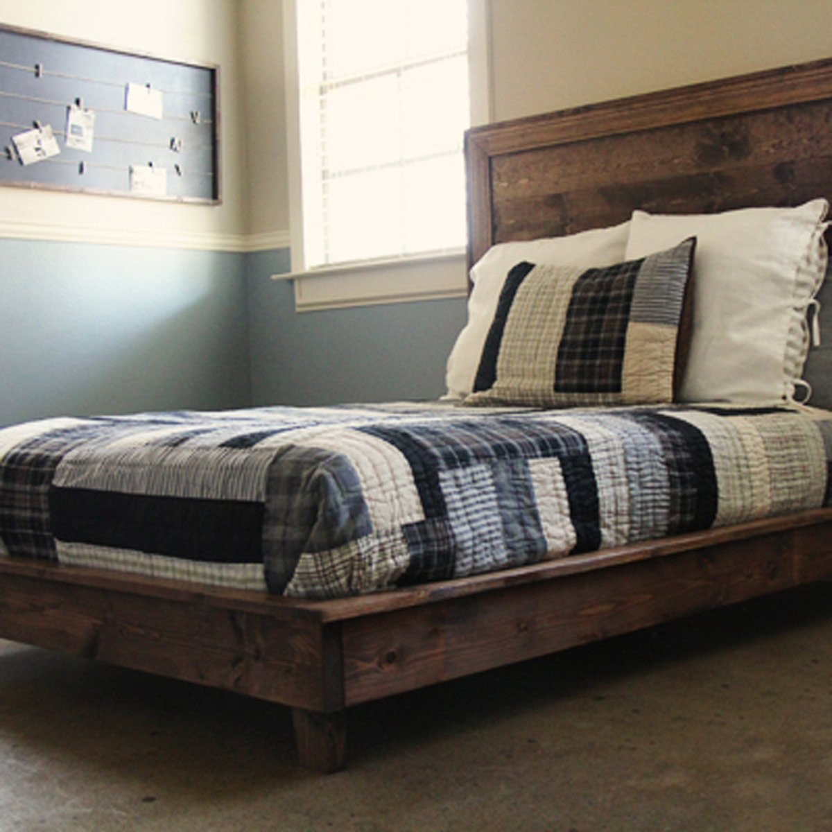 DIY Wooden Bed Frame With Storage  10 Awesome DIY Platform Bed Designs — The Family Handyman