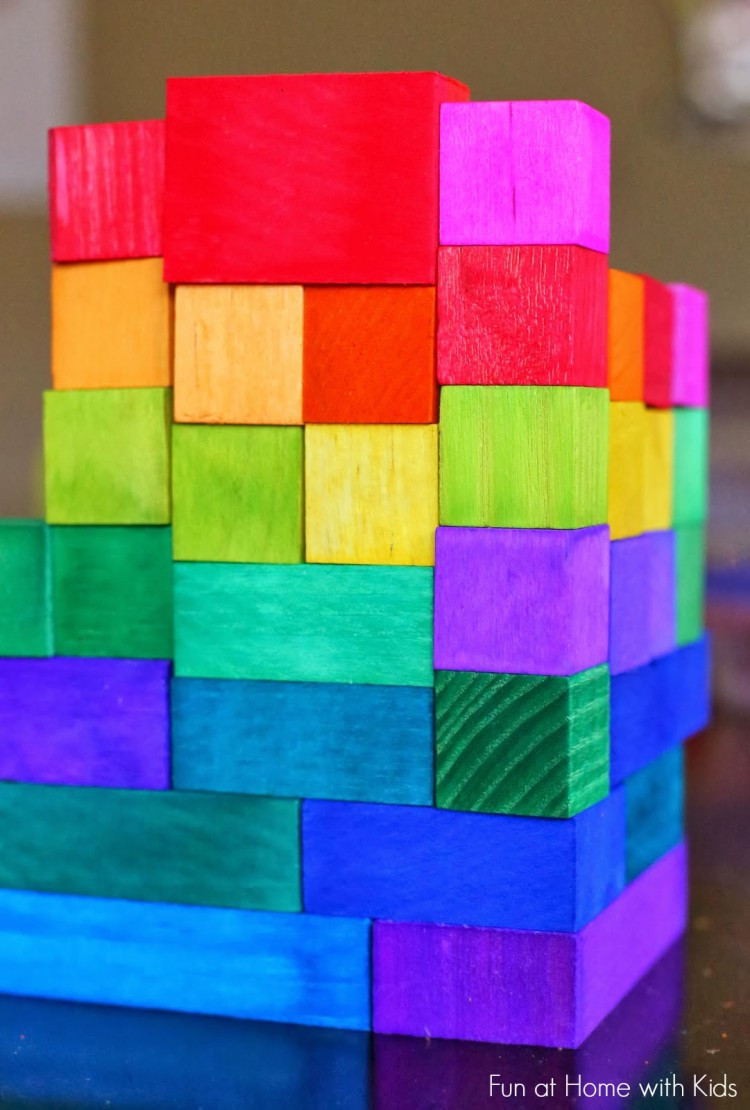 DIY Wooden Blocks  11 DIY Wooden Block Toys To Entertain Your Kids Shelterness