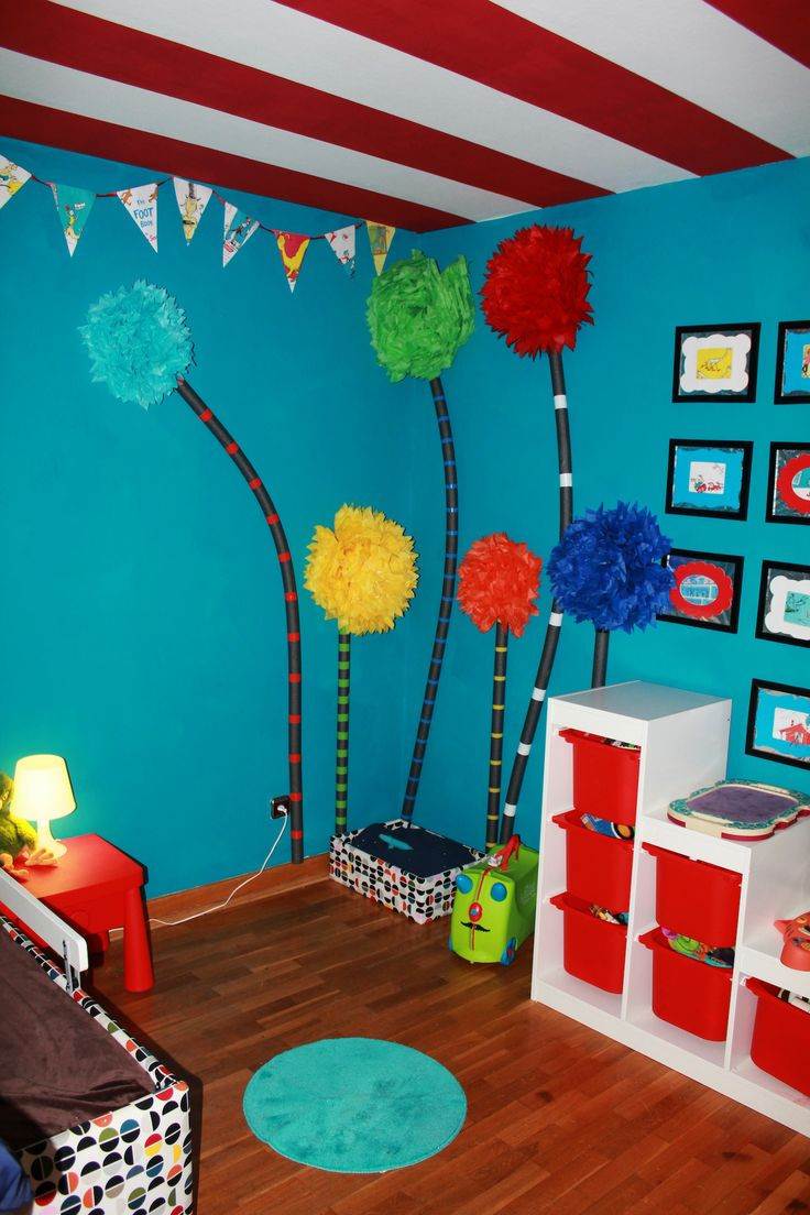 Dr Seuss Baby Room Decor  116 best Dr Seuss Style and Decor images on Pinterest