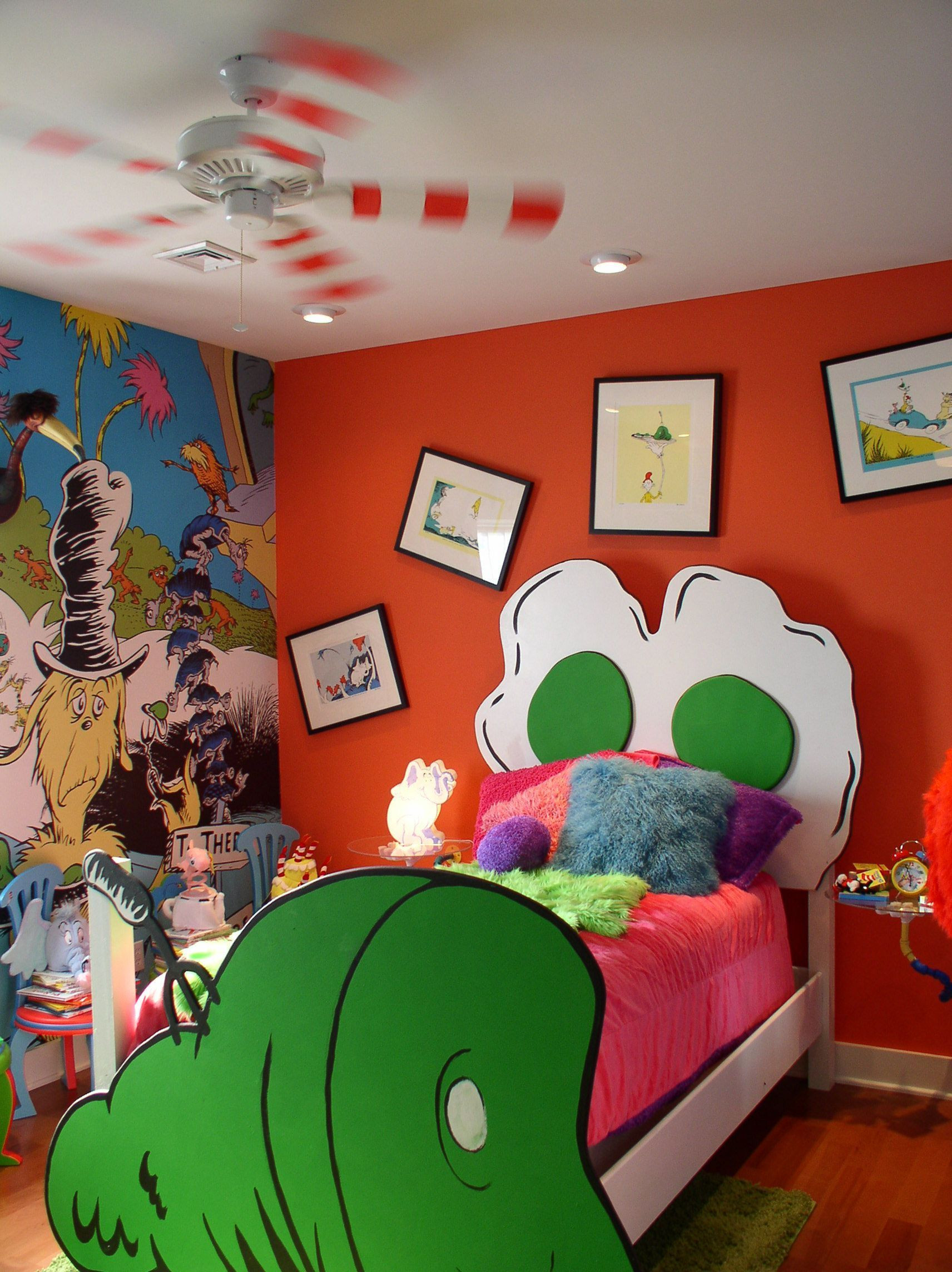 Dr Seuss Baby Room Decor  10 Awesome Cartoon Bedroom Decorating Ideas For Your Child
