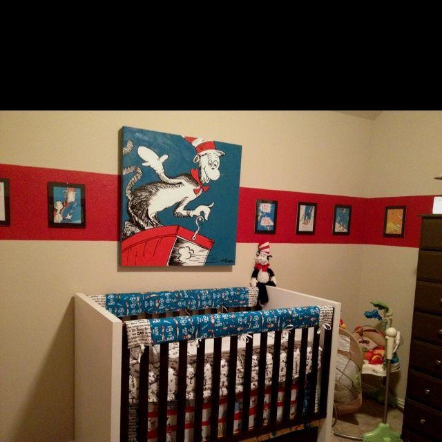 Dr Seuss Baby Room Decor  Pin by Jennifer Cason Woodall on Nursery ideas with Dr