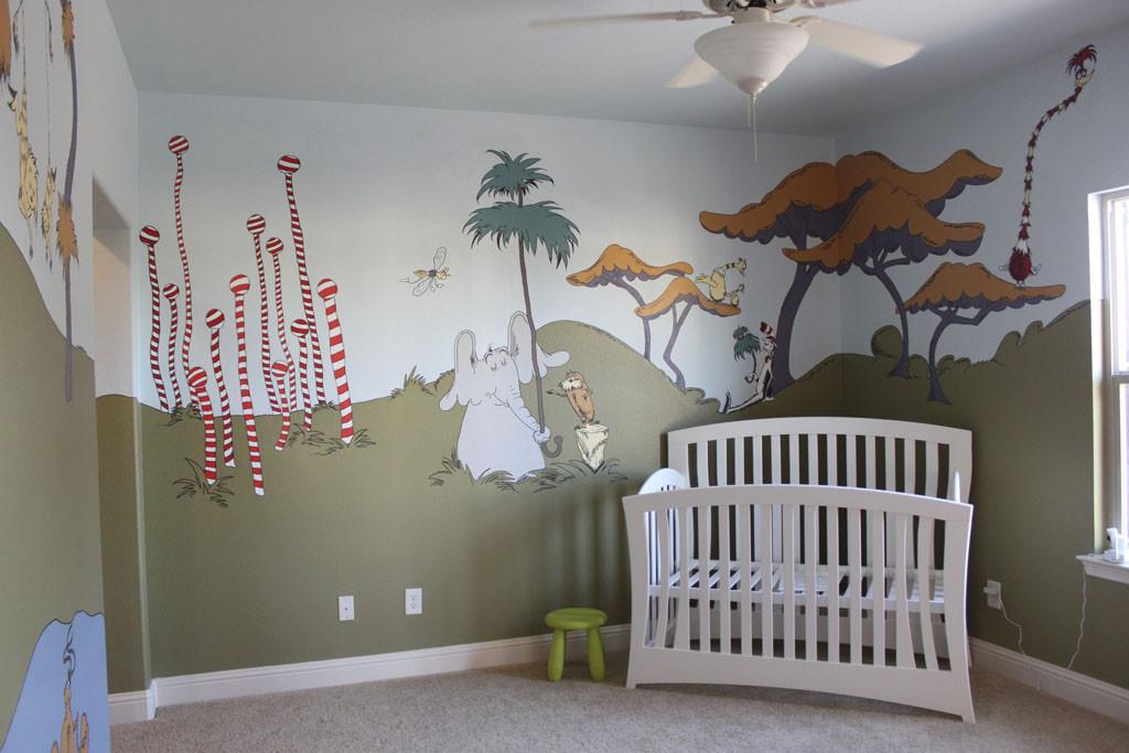 Dr Seuss Baby Room Decor  Dr Seuss playroom — thenest