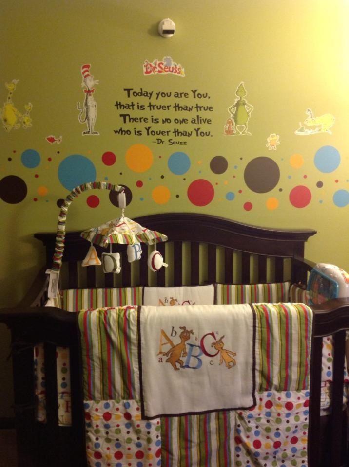 Dr Seuss Baby Room Decor  My daughters Dr Seuss nursery