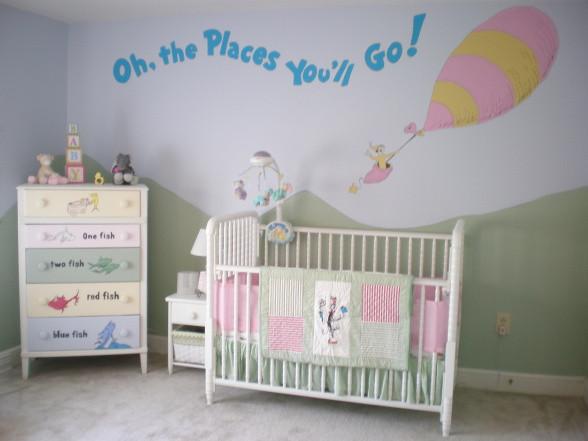Dr Seuss Baby Room Decor  In Celebration of Dr Seuss