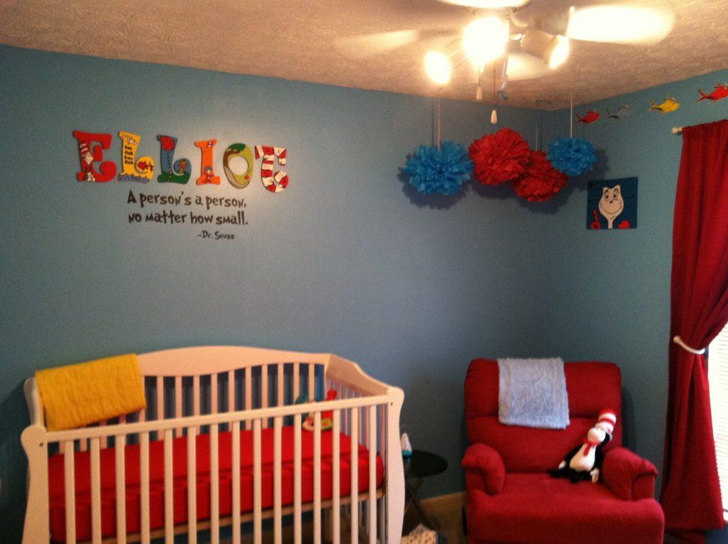 Dr Seuss Baby Room Decor  Elliot s DIY Dr Seuss Nursery Project Nursery