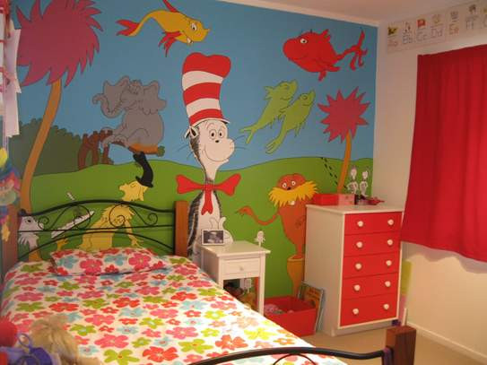Dr Seuss Baby Room Decor  Dr Seuss Inspiration for Kids Bedroom Decor at Huggies