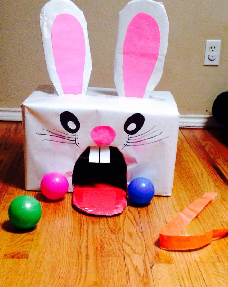 Easter Party Games For Kids  Easter bunny game Indoor or outdoor Easy to make and fun