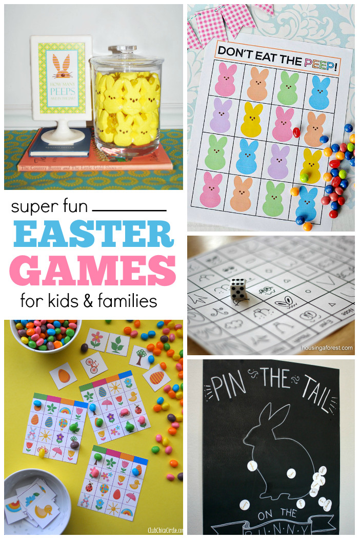 Easter Party Games For Kids  27 Fun Easter Games for Kids