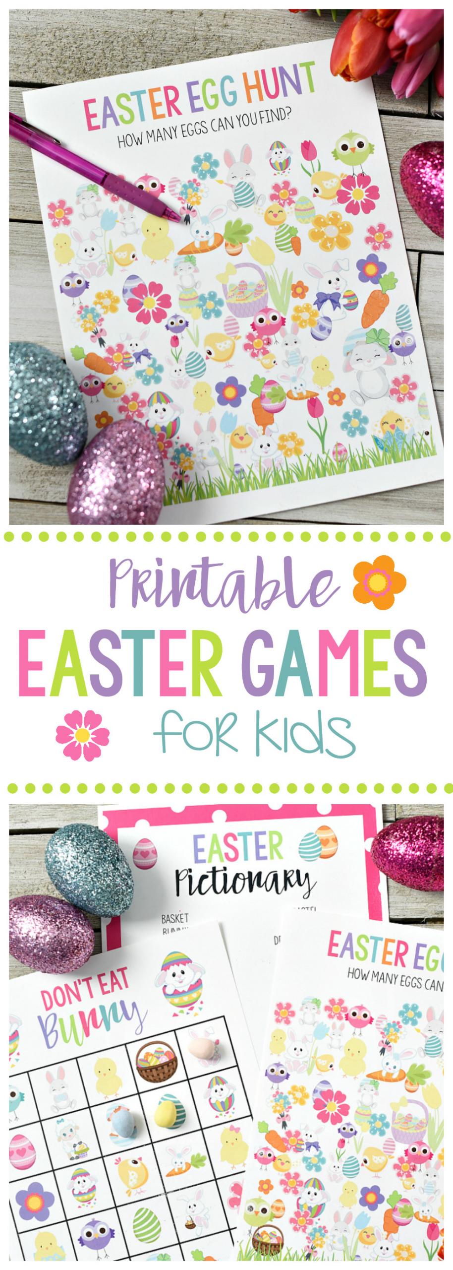 Easter Party Games For Kids  Free Printable Easter Games for Kids – Fun Squared