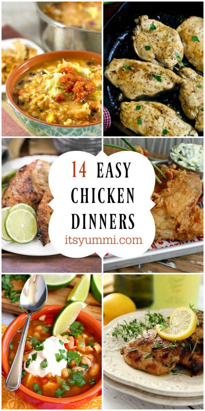 Easy Chicken Dinners  14 Easy Chicken Dinners to Celebrate National Chicken Month