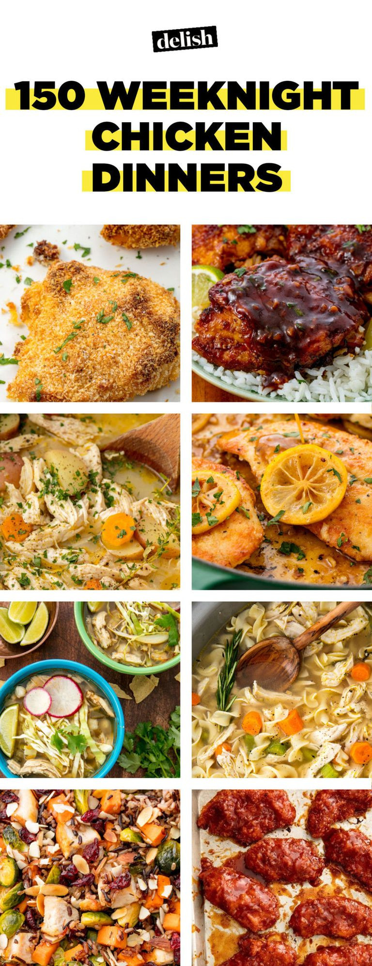 Easy Chicken Dinners  90 Easy Chicken Dinner Recipes — Simple Ideas for Quick
