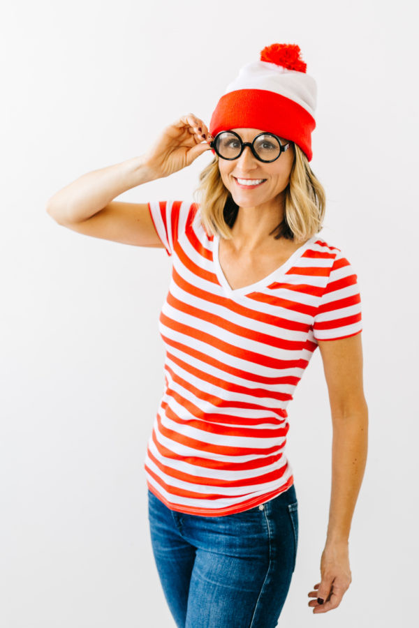 Easy DIY Adult Costumes  Thrift or Treat Easy Halloween Costume Ideas – Jenny Cookies