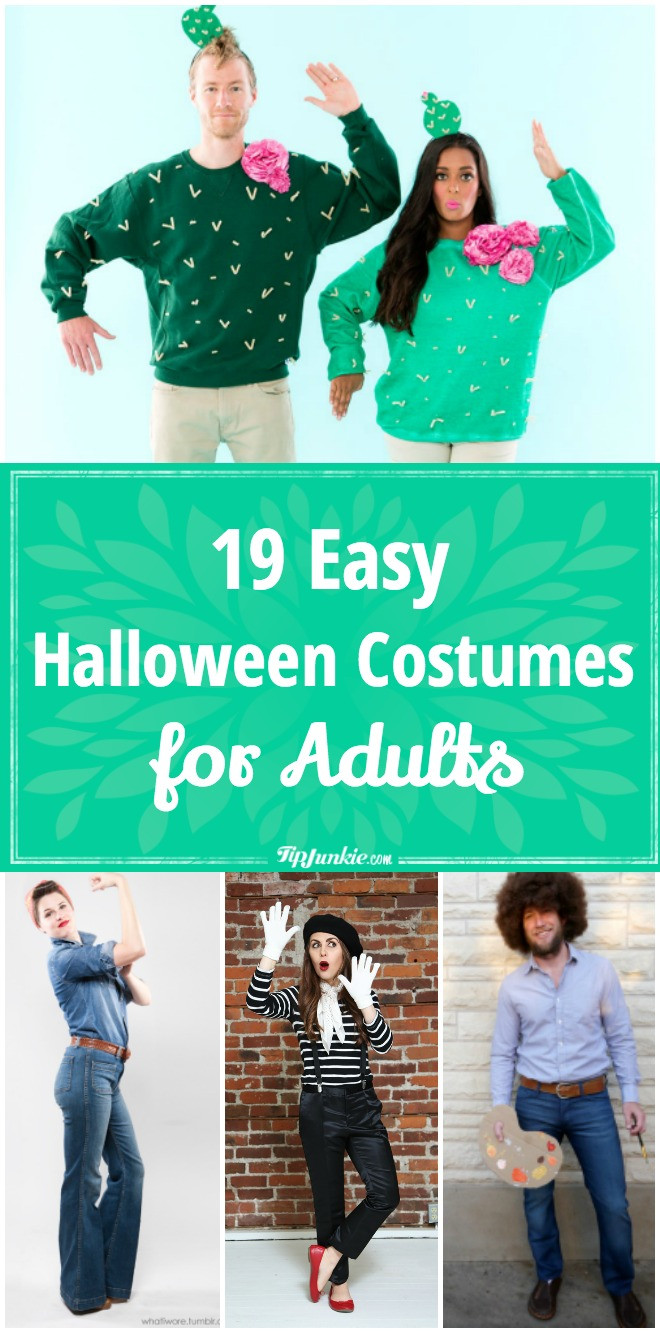 Easy DIY Adult Costumes  19 Easy Adult Halloween Costume Patterns – Tip Junkie