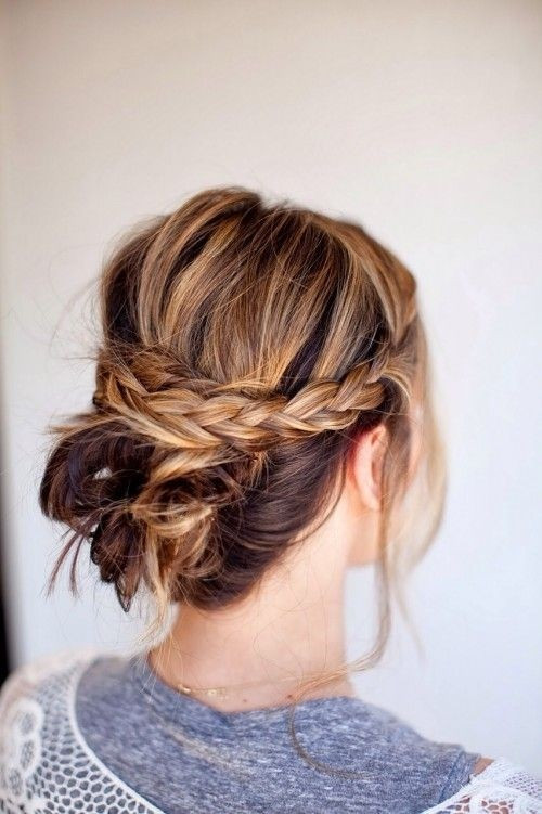 Easy Everyday Hairstyles  22 Great Braided Updo Hairstyles for Girls Pretty Designs