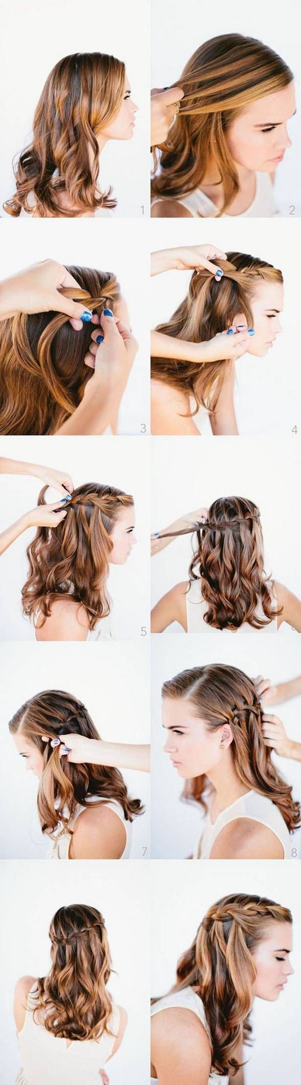 Easy Hairstyles For Short Hair To Do At Home Step By Step  Easy hairstyles for long hair to do at home step by step