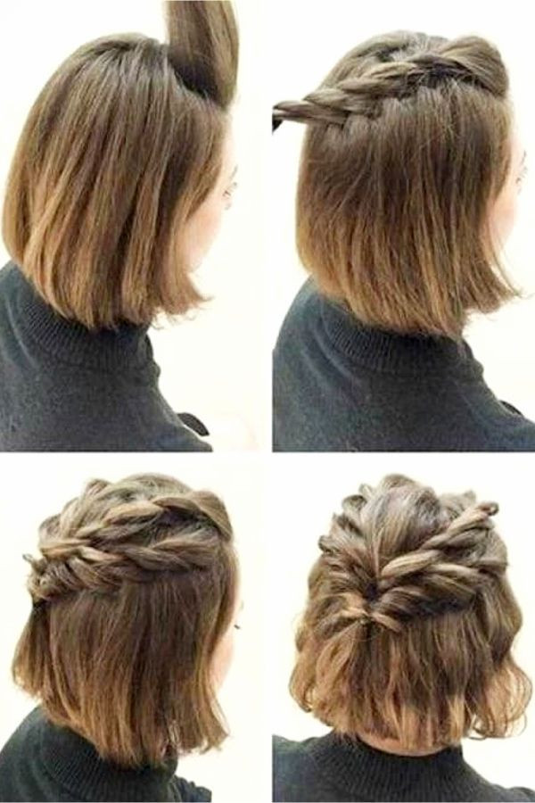 Easy Hairstyles For Short Hair To Do At Home Step By Step  10 EASY Lazy Girl Hairstyle Ideas Step By Step Video