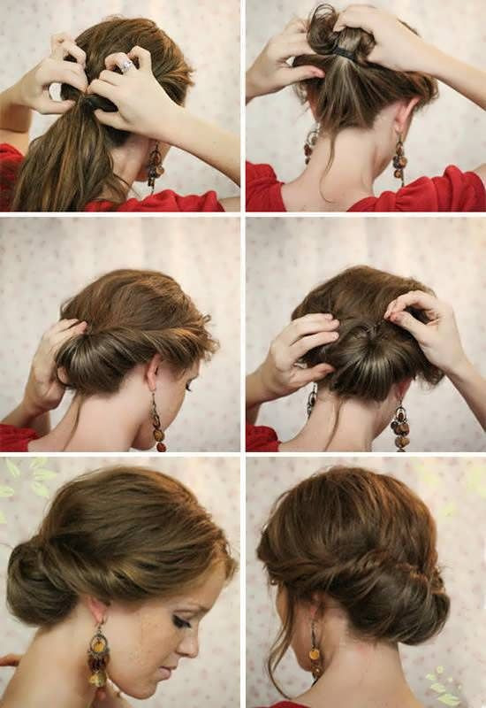 Easy Hairstyles For Short Hair To Do At Home Step By Step  11 easy hairstyles step by step Hairstyles for all