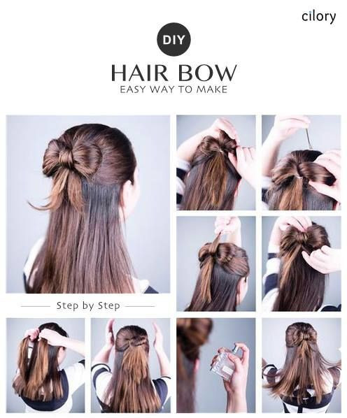 Easy Hairstyles For Short Hair To Do At Home Step By Step  DIY easy hairstyles easy hairstyles for medium hair