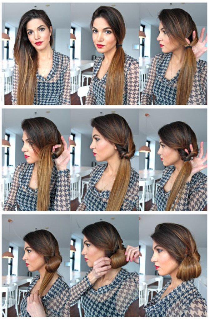 Easy Hairstyles For Short Hair To Do At Home Step By Step  Easy & Fast DIY Hairstyles Tutorials long hair short