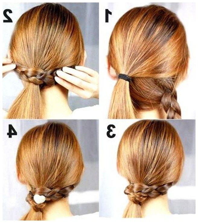 Easy Hairstyles For Short Hair To Do At Home Step By Step  indian hairstyles for girls step by step Google Search