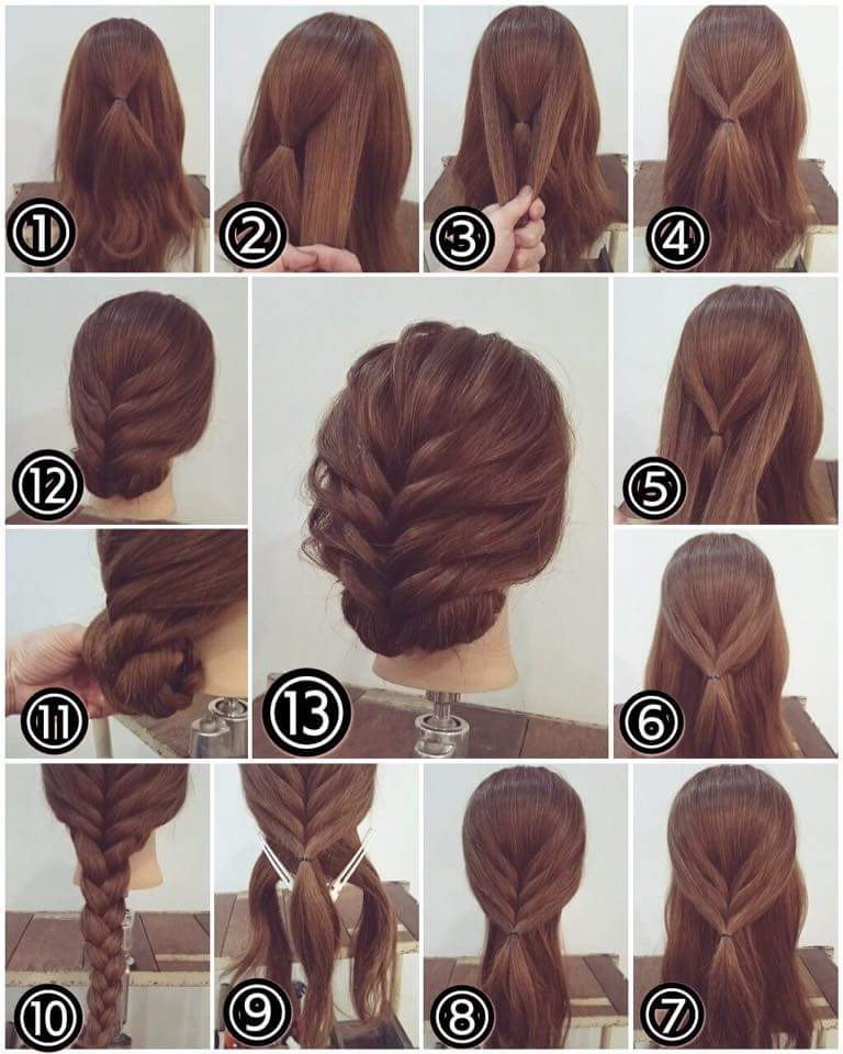 Easy Hairstyles For Short Hair To Do At Home Step By Step  Easy Hairstyles for Short Hair Step By Step Step by step