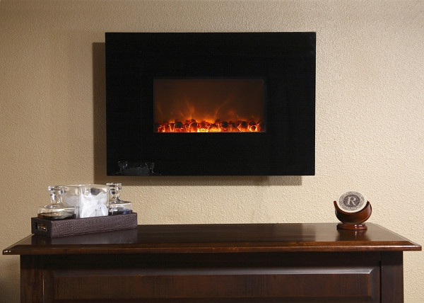 Electric Fireplace Modern Wall Mount  Modern Flames 38 Inch Wall Mount Linear Electric Fireplace