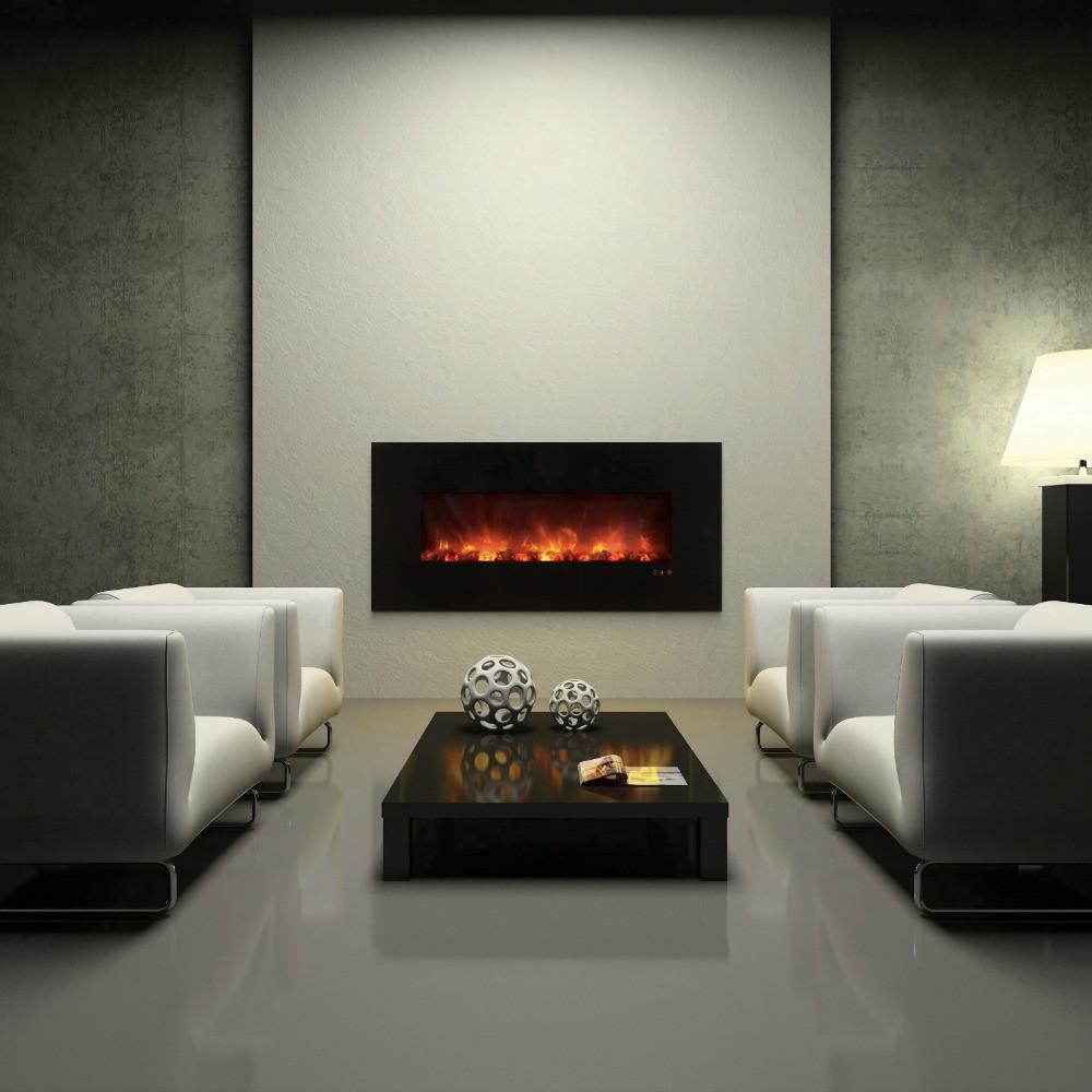 Electric Fireplace Modern Wall Mount  Wall Mount Electric Fireplaces – TheModernFireplace