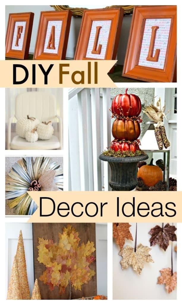 Fall Decorating Ideas DIY  10 DIY Fall Decor Ideas