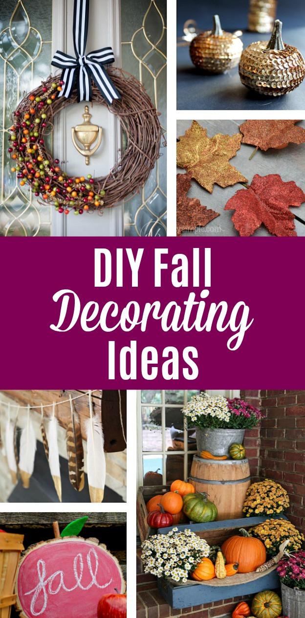 Fall Decorating Ideas DIY  DIY Fall Decorating Ideas Fun Easy and Affordable