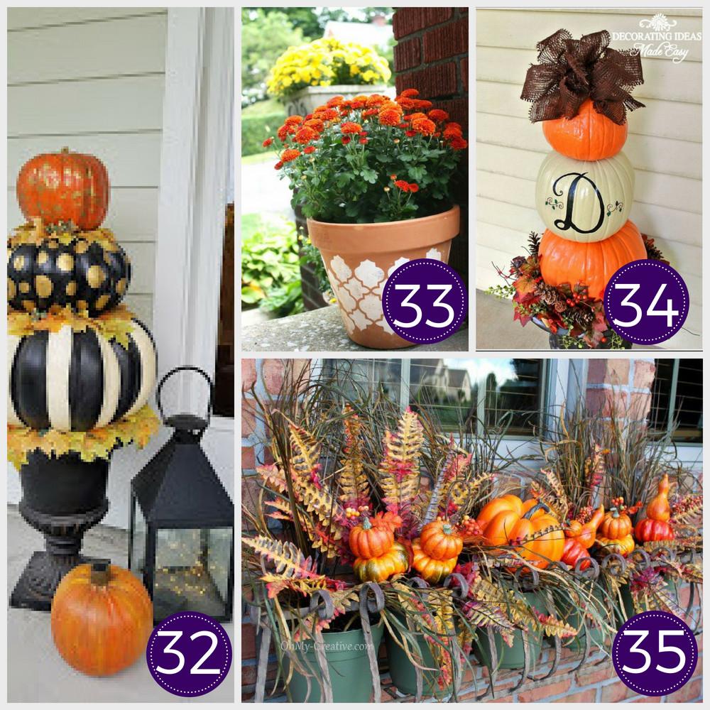 Fall Decorating Ideas DIY  35 Stunning Dollar Store DIY Fall Decor Ideas This Tiny