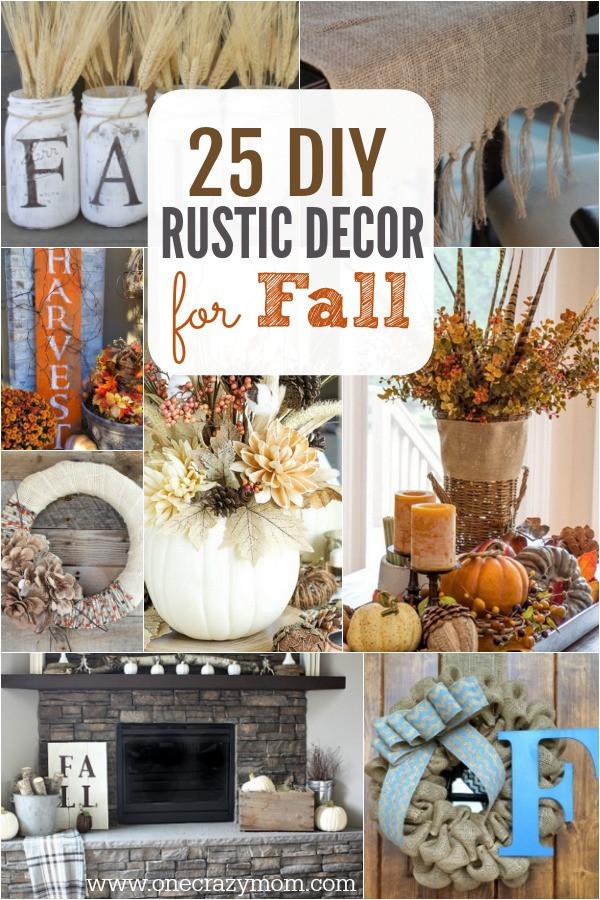 Fall Decorating Ideas DIY  DIY Fall Decorating Ideas 25 DIY Fall Decor Ideas You