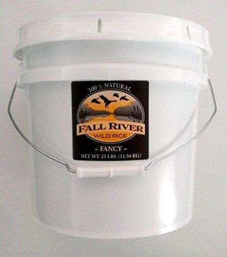Fall River Wild Rice  Fall River Wild Rice 25 Lb Bucket Fancy Read more at