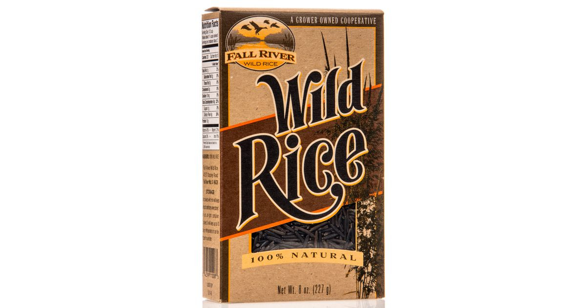 Fall River Wild Rice  Fall River Wild Rice Azure Standard