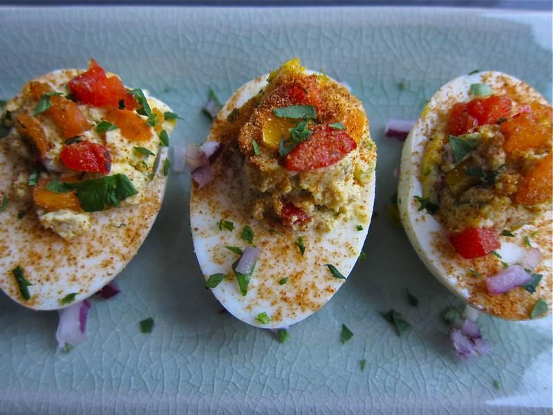 Fancy Deviled Eggs Recipe  Fancy These Deviled Eggs jittery cook