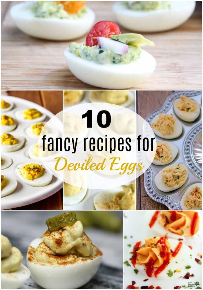 Fancy Deviled Eggs Recipe  10 Fancy Recipes for Deviled Eggs to