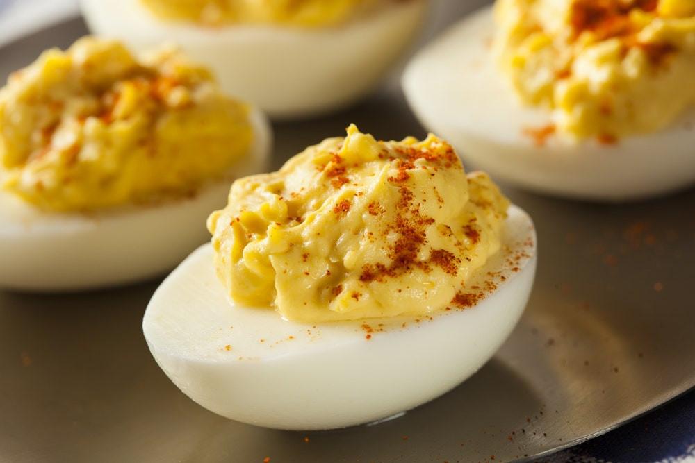 Fancy Deviled Eggs Recipe  Deviled Eggs recipe