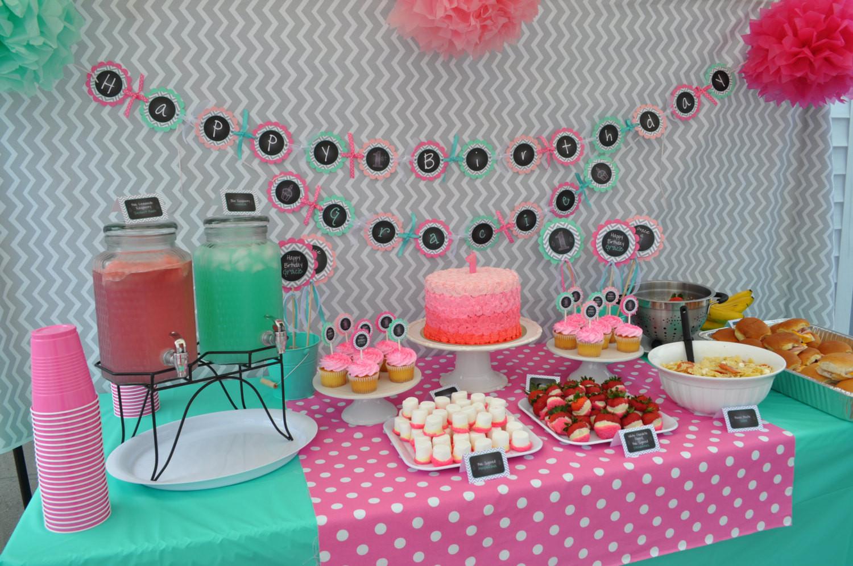 First Birthday Decor  1st Birthday Banner – Girls 1st Birthday Decorations