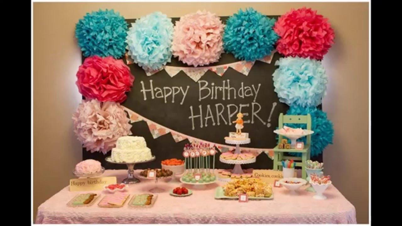 First Birthday Decor  Best ideas Baby boy first birthday party decoration