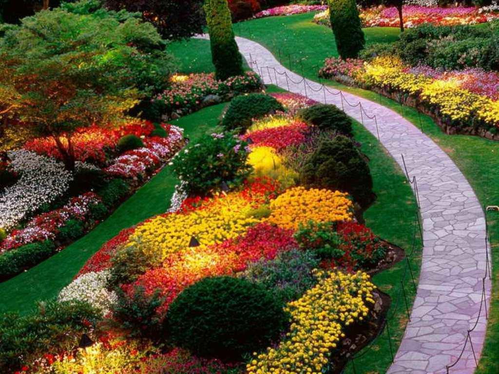 Flower Landscape Design  Color Scheme Options for Your Landscape Design Country