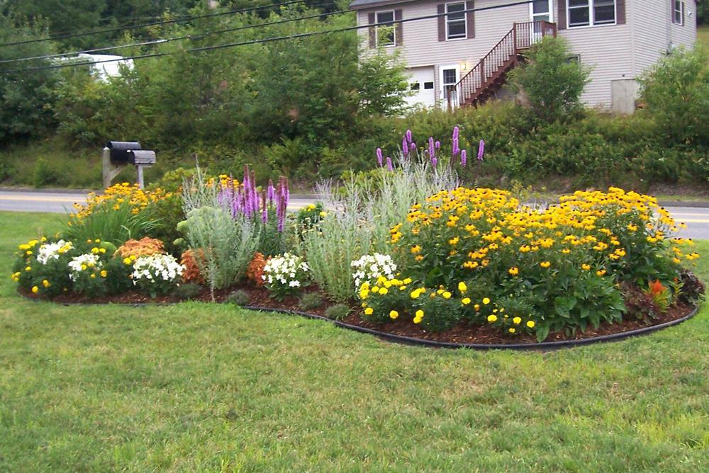 Flower Landscape Design  Landscape Design 1HomeDesigns