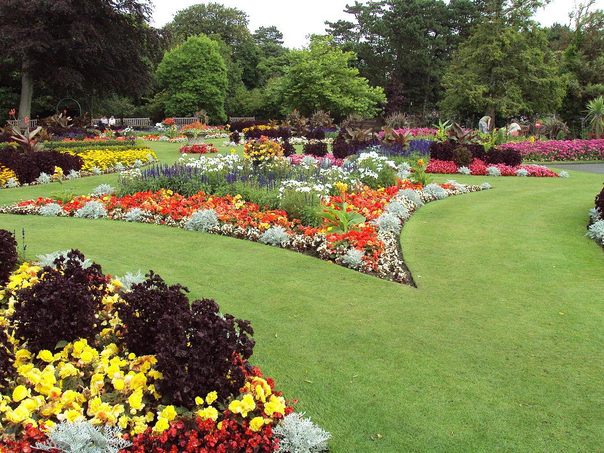 Flower Landscape Design  Flower garden