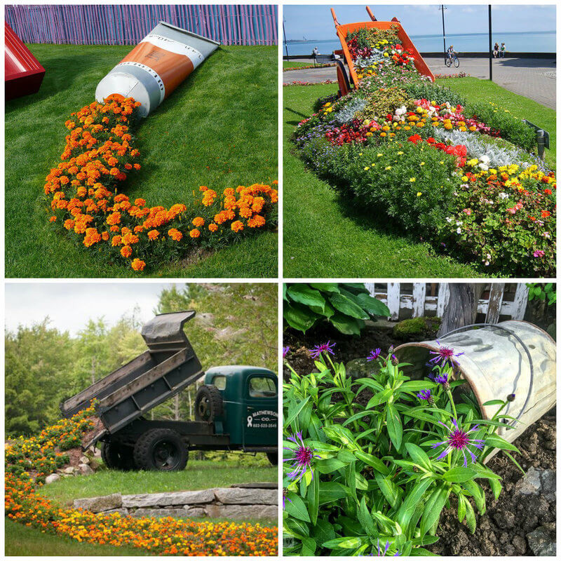 Flower Landscape Design  15 Amazing Spilling Flower Landscape Design Ideas