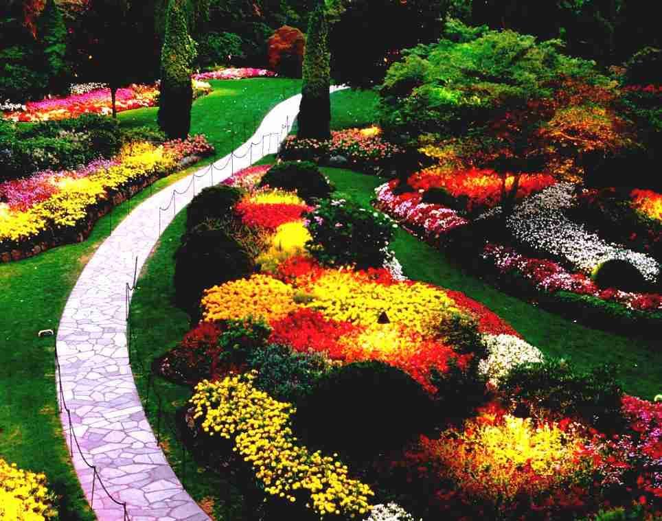 Flower Landscape Design  Landscape Arrangements for your House s Front Gardening
