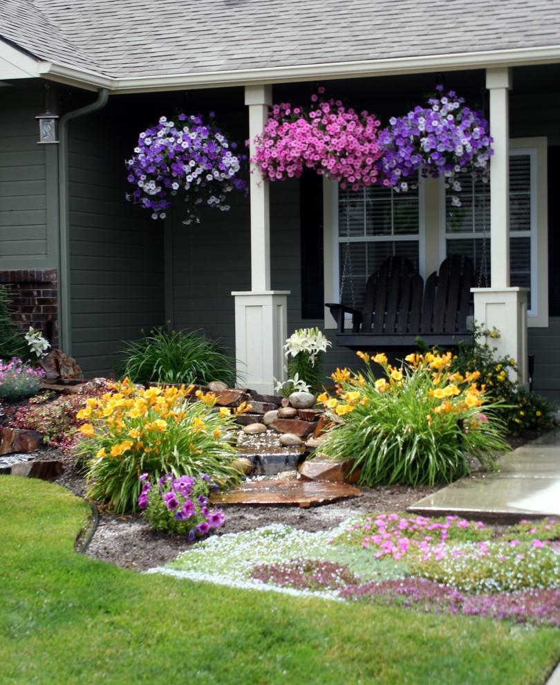 Flower Landscape Design  22 Flower Pot Garden Designs Decorating Ideas