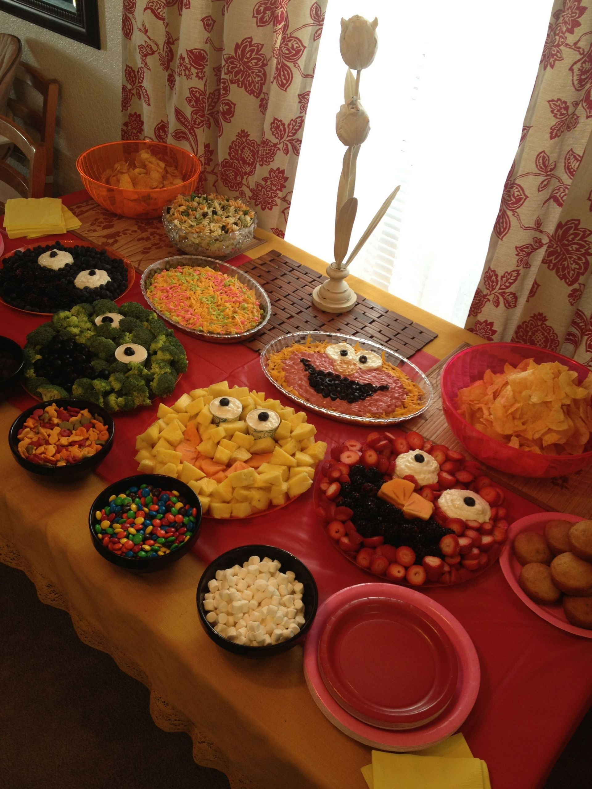 Food Ideas For A 2 Year Old Birthday Party  Elmo themed 2 year old birthday party
